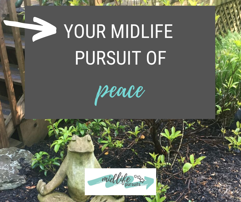 Pursuit of Peace – How to stay calm no matter what life brings