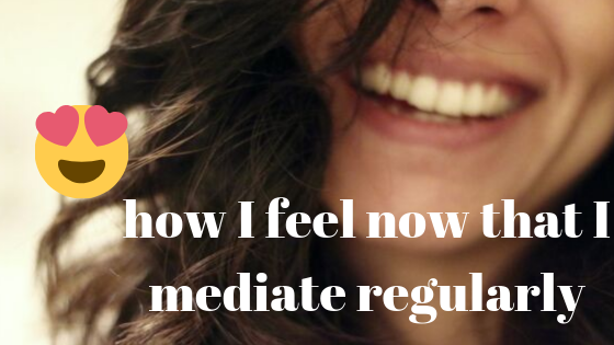 meditation helps you stop comparing yourself to others
